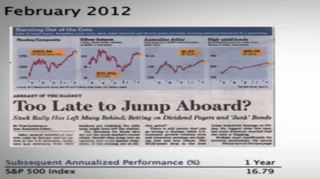 Quelle: Wirtschaftspresse Februar 2012 Wertentwicklungen der Vergangenheit sind keine Garantie für zukünftige Wertentwicklungen.