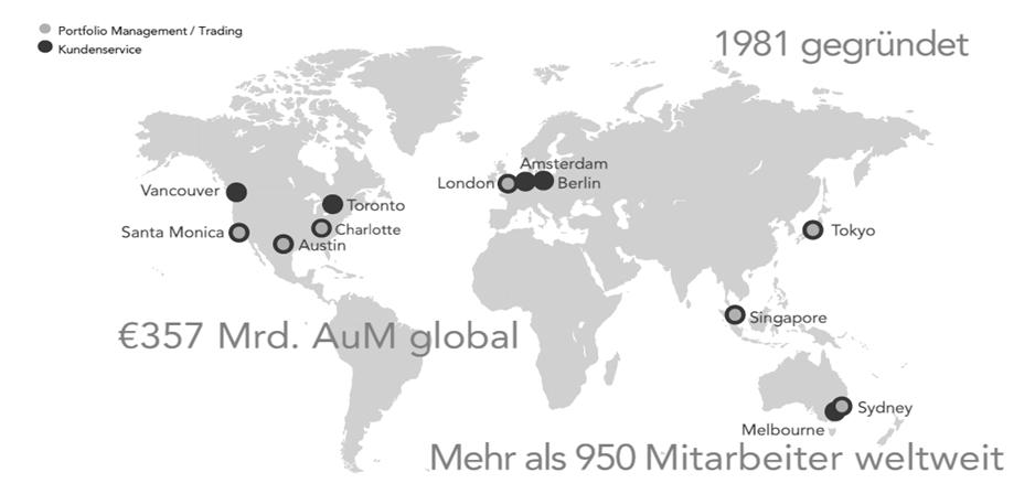 Quelle: DFA / Ein global ausgerichtetes Unternehmen.